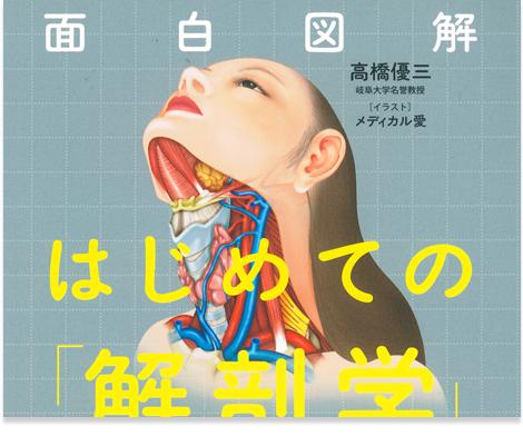 メディカルイラストのわかりやすい解剖学書